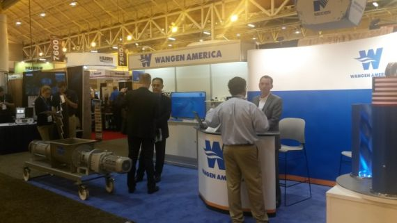 booth at WEFTEC trade fair, New Orleans